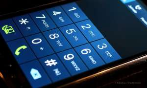 Smartphone Zahlentastatur
