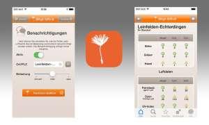 Allergiehelfer-App im Test