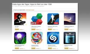 Amazon App Aktion, Gratis