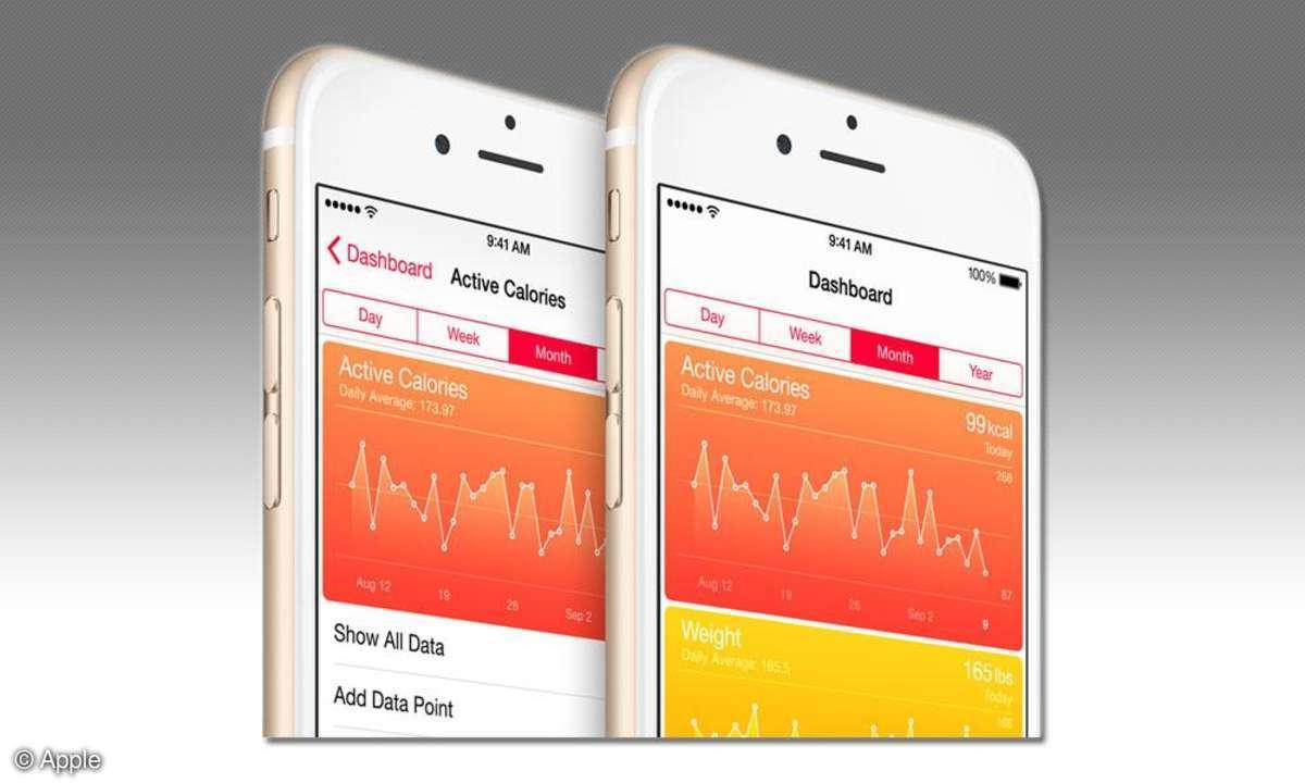 Das bringt Apples Health-App