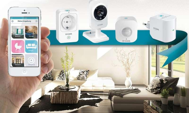 smart home heimvernetzung mit d link connect. Black Bedroom Furniture Sets. Home Design Ideas