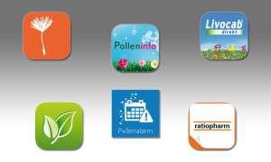 Pollenflug-Apps