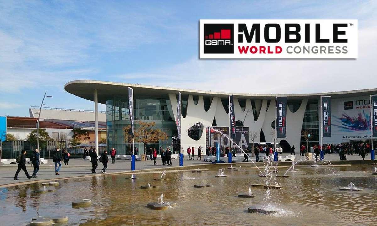 Gelände des Mobile World Congress