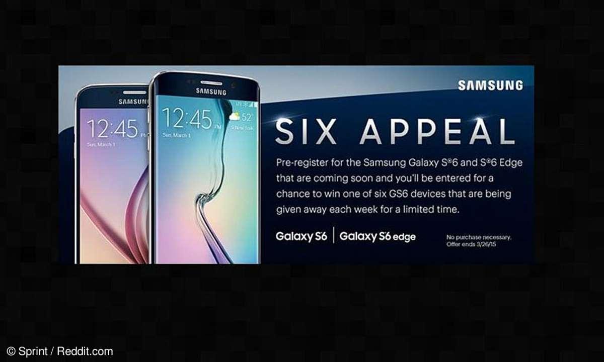 Samsung Galaxyy S6, Sprint Werbeteaser
