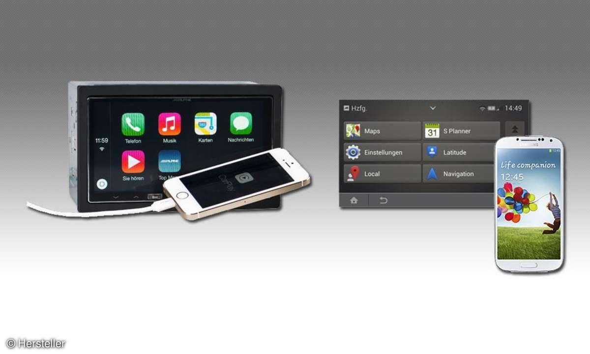 Apple Carplay vs. Mirrorlink