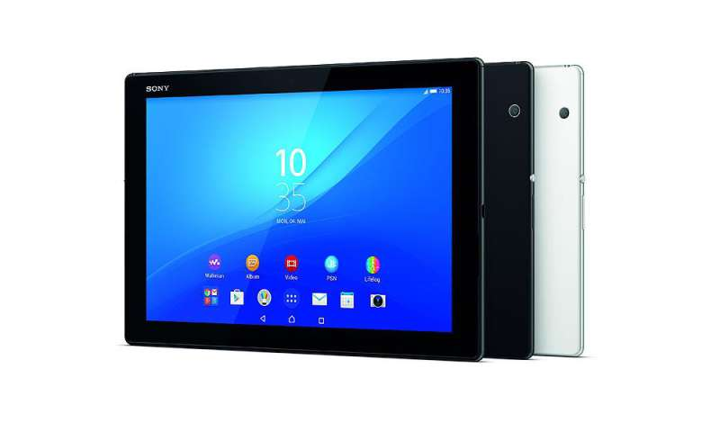 how to connect sony srs to tablet