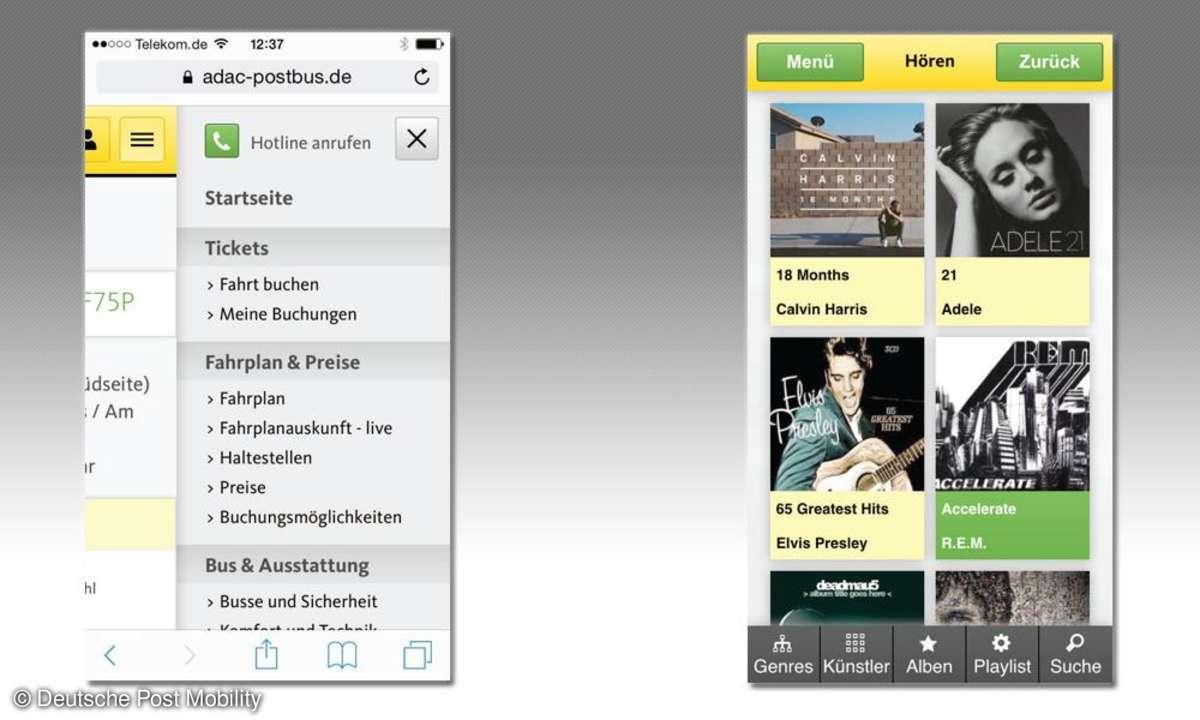 ADAC Postbus-App im Test