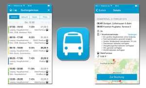 Busliniensuche-App im Test