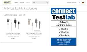 Produktcheck Artwizz Lightning Cable