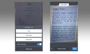 Dokumente scannen mit Android und iPhone