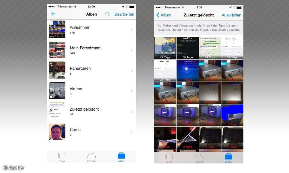 5 Tipps für die iPhone Fotos-App