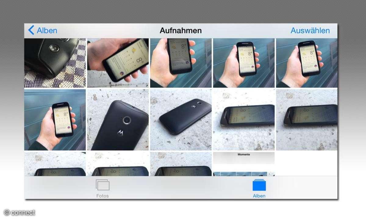 Apple iPhone Fotos App