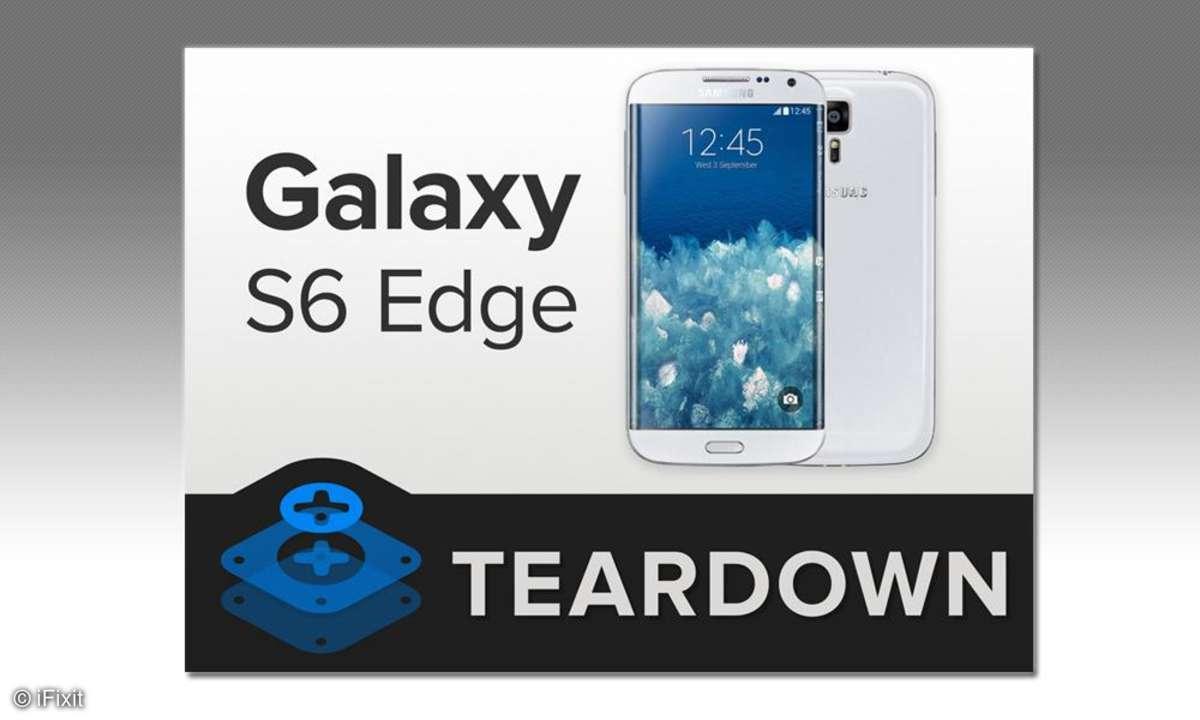 Samsung Galaxy S6 Edge, iFixit