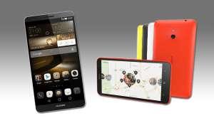 Huawei Ascend Mate 7, Nokia Lumia 1320