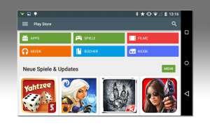 Google Play Store deinstalliert