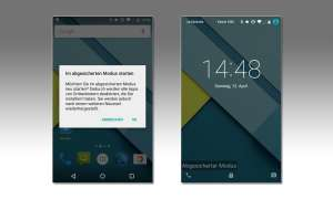 Android-Gerät stürzt ab