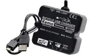 Kemo Fahrrad Laderegler USB