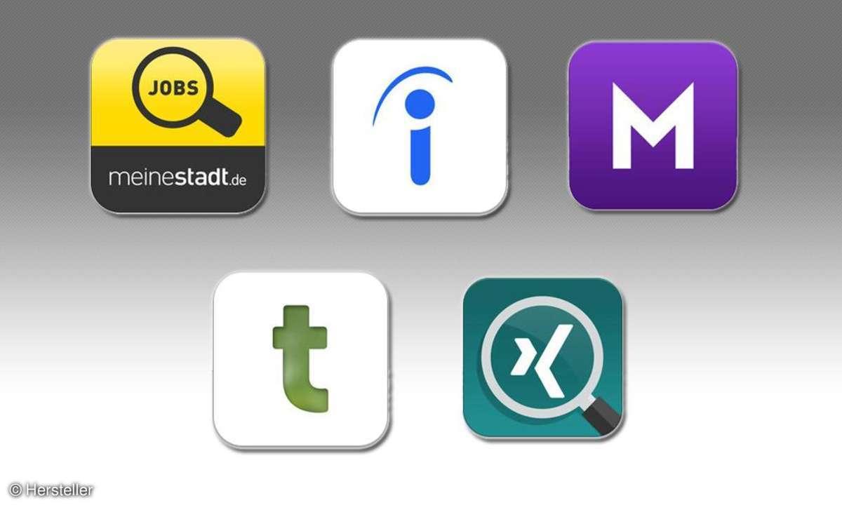 Jobbörsen-Apps