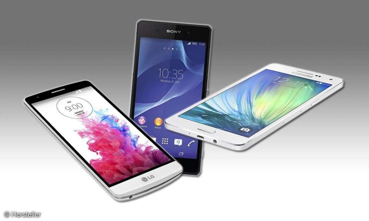 LG, Sony, Samsung