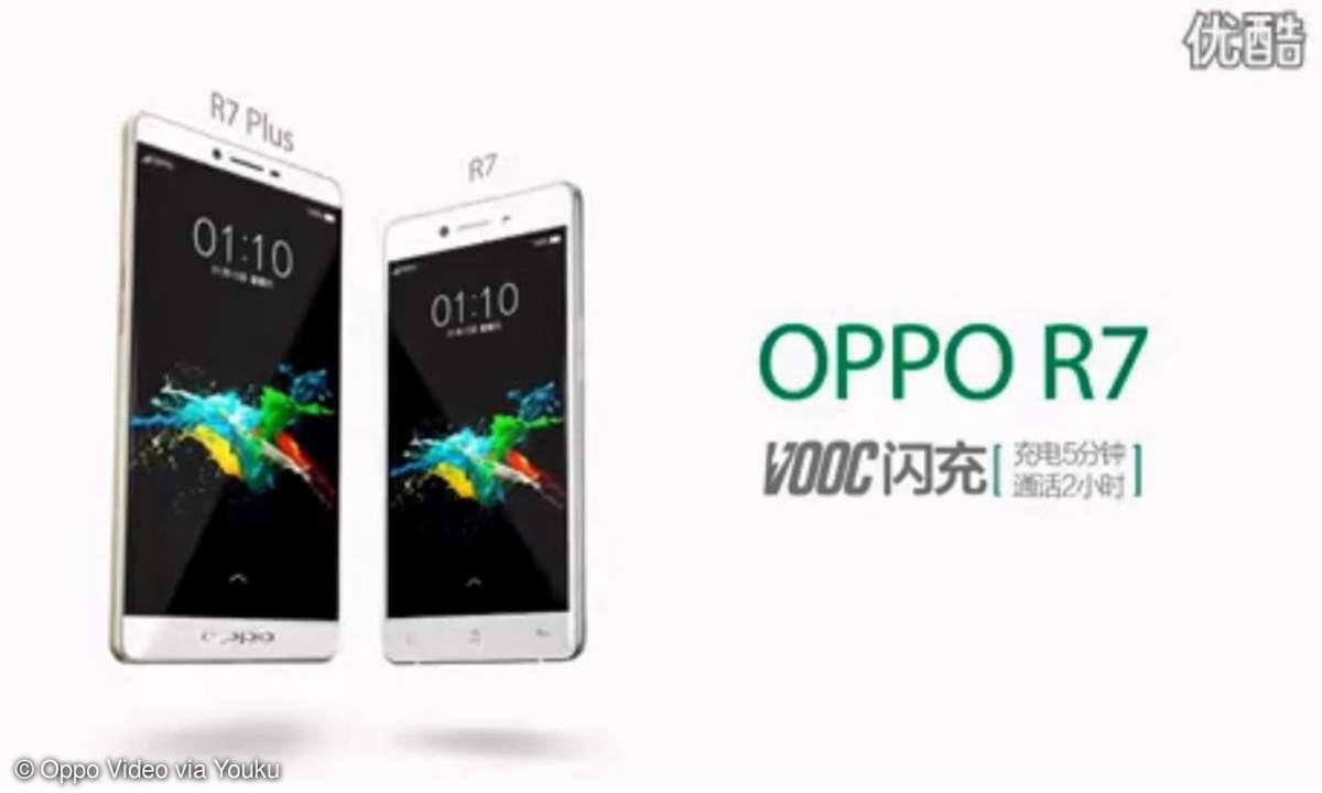 Oppo R7, Oppo R7 Plus