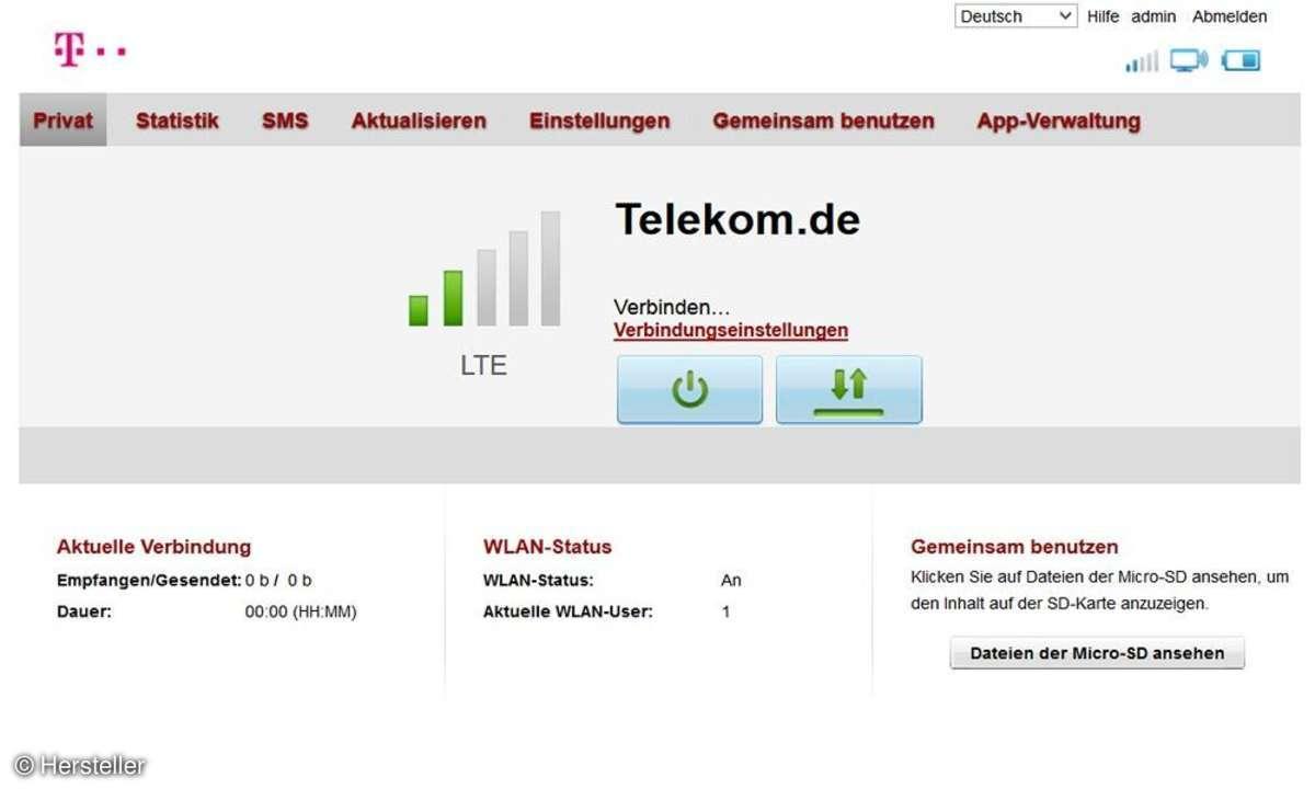 Telekom Speedbox LTE Mini II
