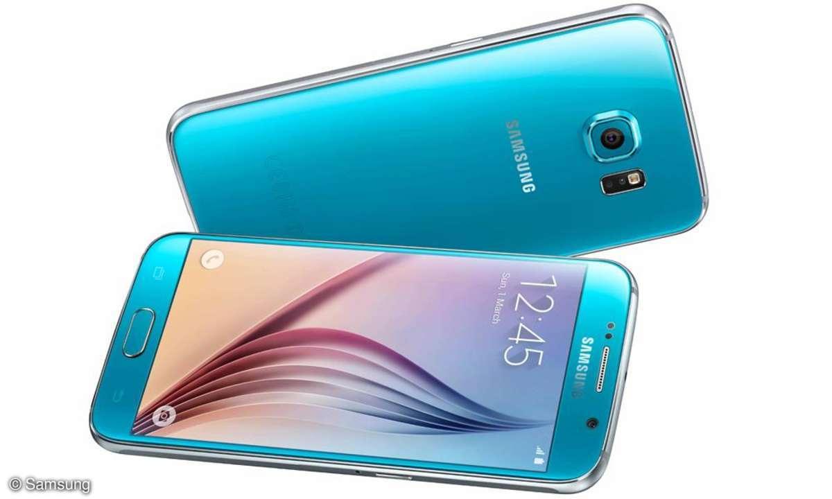 Samsung Galaxy S6 Topasblau