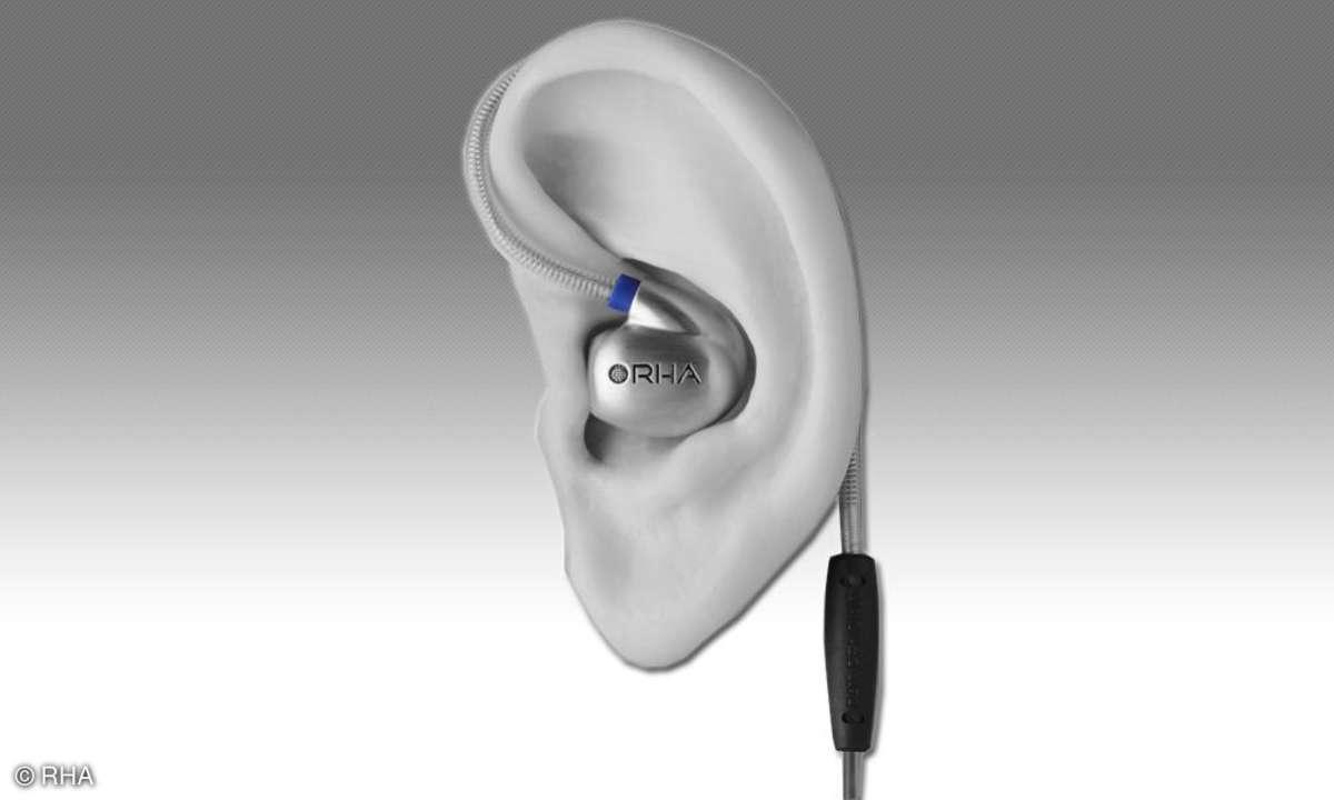 In-Ears Tragekomfort