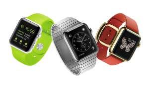 Verschiedene Modelle der Apple Watch
