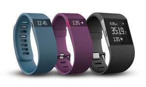 Fitbit Charge, Charge HD, Surge