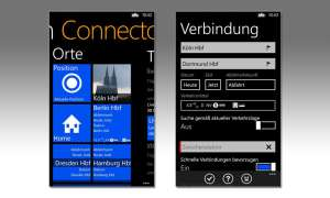 Bahn Connector App