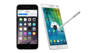 Vergleichstest: Galaxy Note 4 vs. iPhone 6 Plus