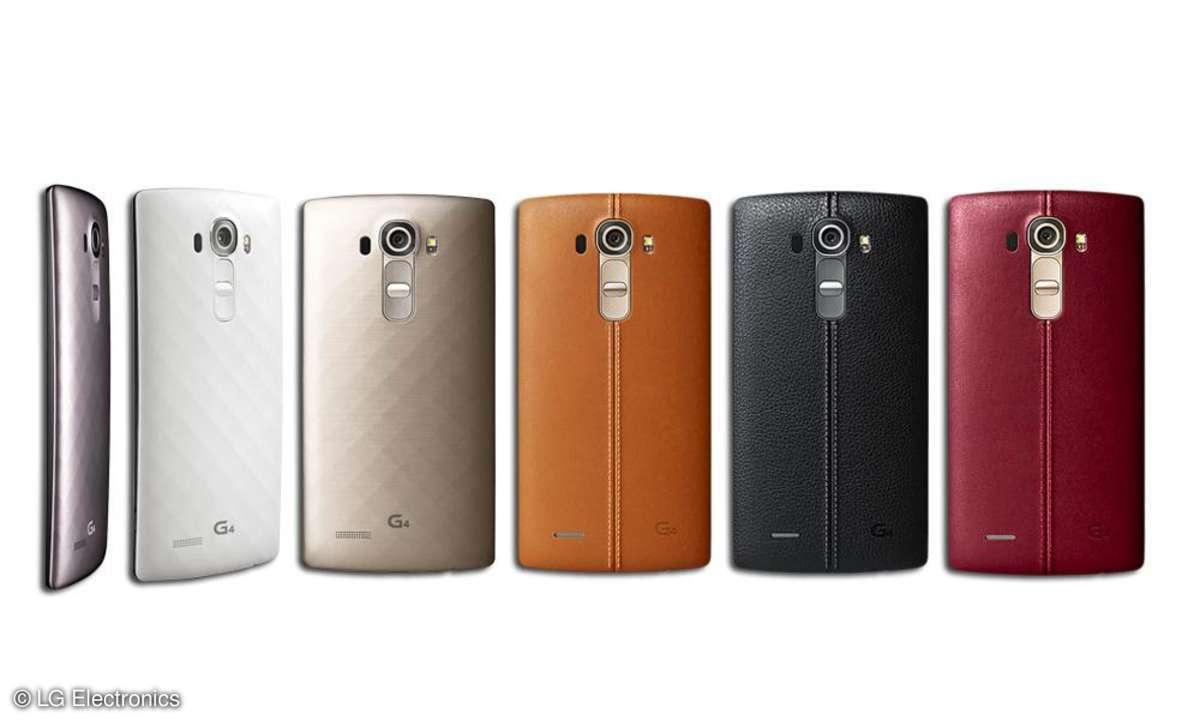 LG G4 Leder - und Keramikoptik