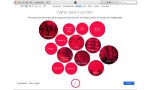 iTunes-Screenshot: Einstellungen Apple Music