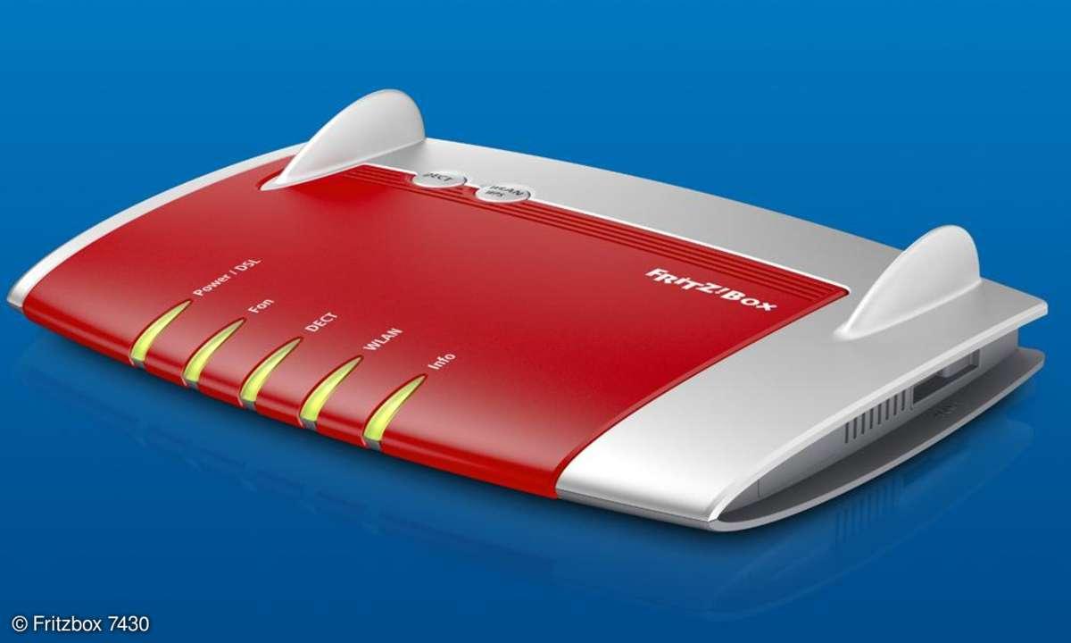 Fritzbox 7430, DSL Router
