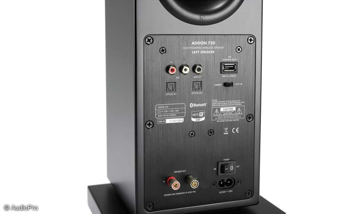AudioPro AddOn T20 Connections