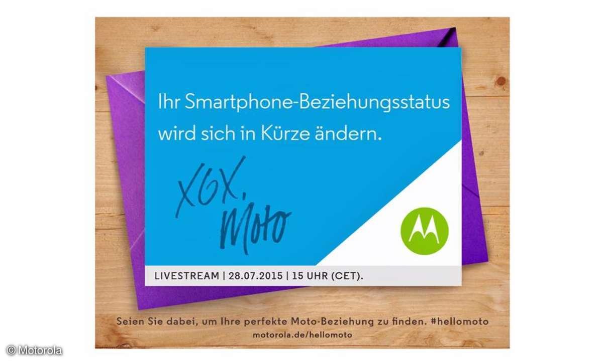 Motorola, Einladung 2015