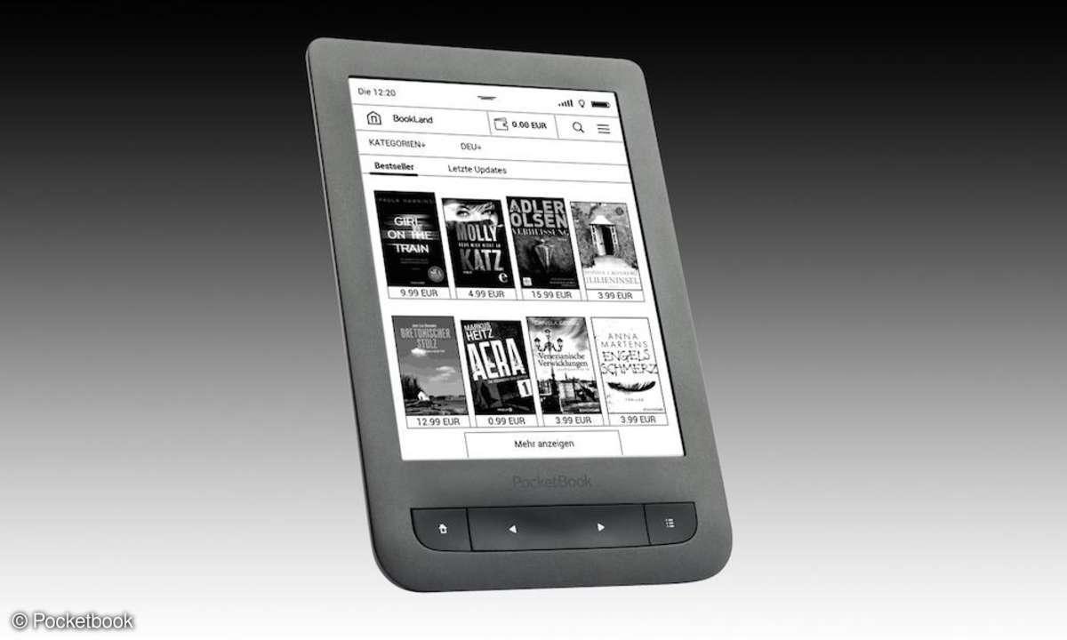 Der Pocketbook Touch Lux 3