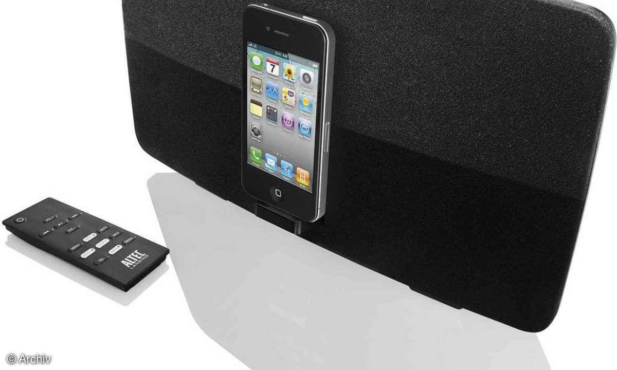 Altec Lansing Dockingstation fürs iPhone kommt