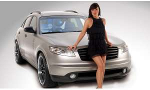 Crazy Car Infiniti FX45