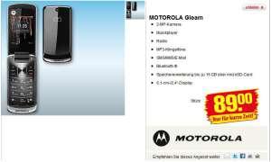 Das Motorola Gleam kommt