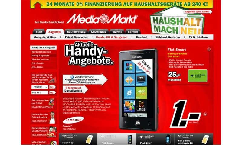 Mediamarkt Handy Angebote Der Woche Connect