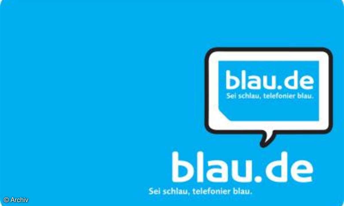 Die Blau.de-Auslandsaktion kommt