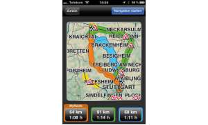 Navigon Mobile Navigator iPhone
