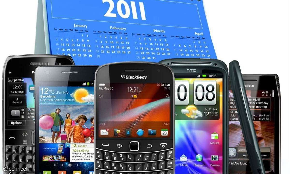 Smartphone Vorschau Mai