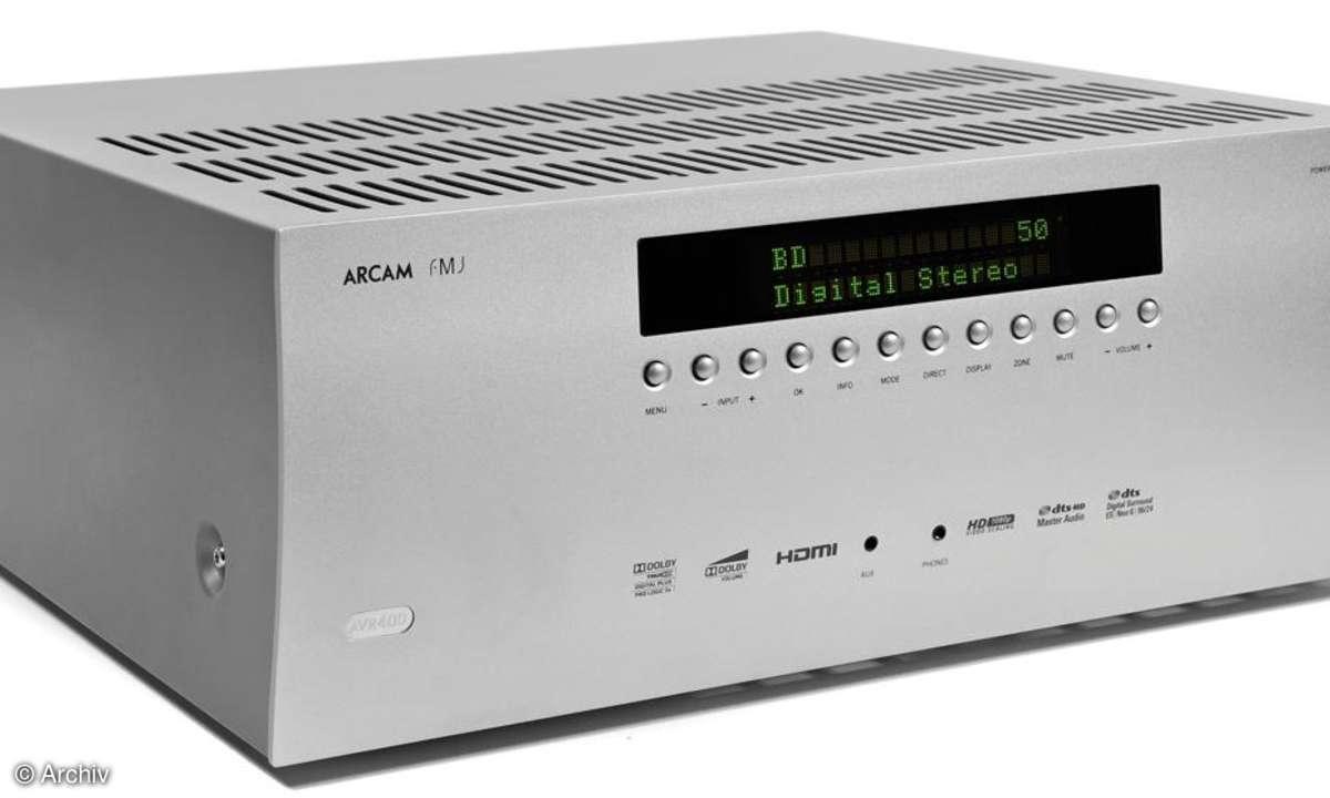 AV-Receiver Arcam AVR 400
