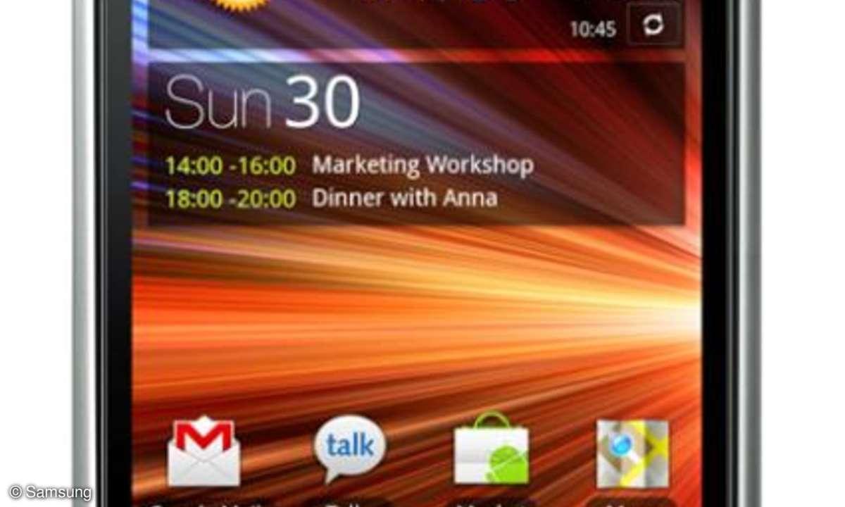 Bald kommt das Galaxy S Plus