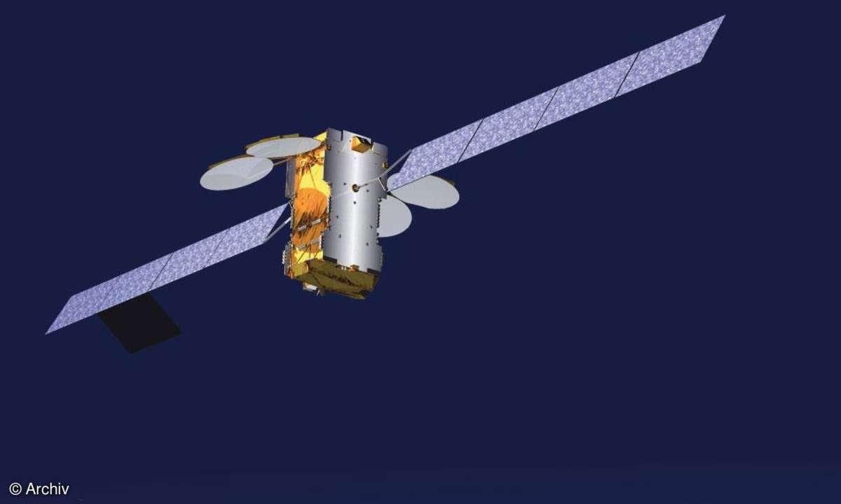 Internet via Satellit