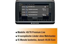 Navigon Live-Dienste