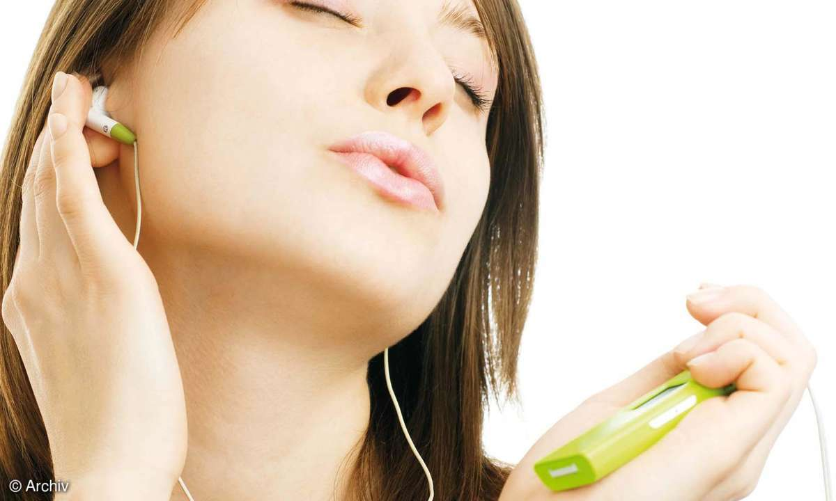 Sound-Vergleichstest von Smartphones.