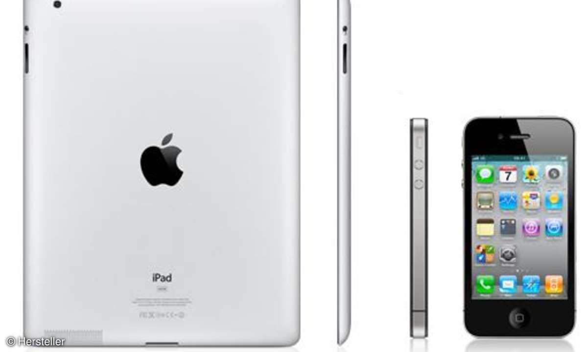iPhone 4 und iPad 2